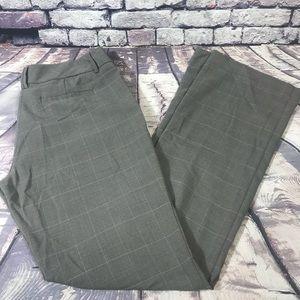 🎉SALE NY&CO Grey Dress Pants w/pink pinstripe 6L